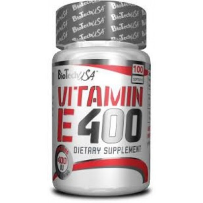 BioTech USA - Vitamin E400 - 100softgels