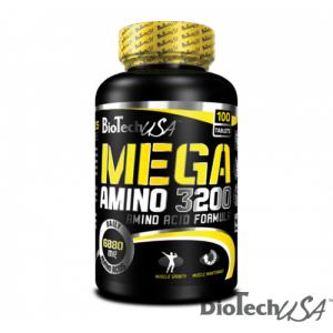 BioTech USA - Mega Amino 3200 - 100tabs