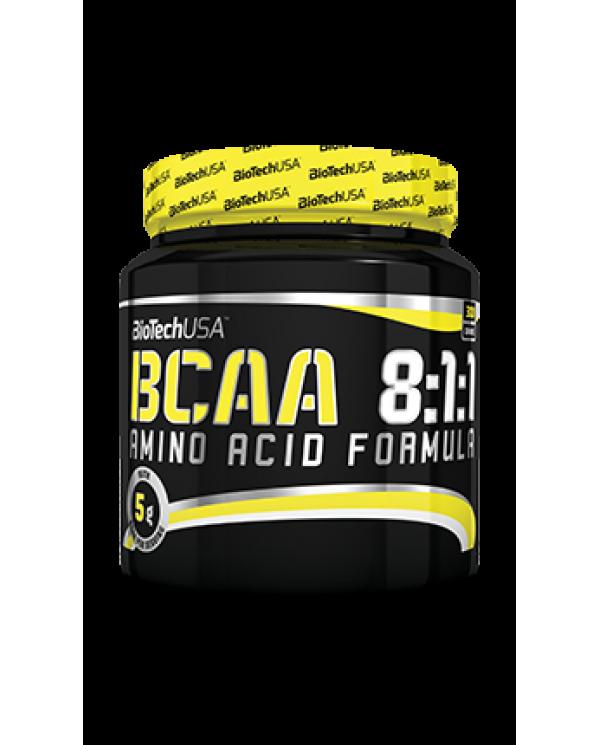 BioTech USA - BCAA 8:1:1 - 300g Unflavored 60serv.