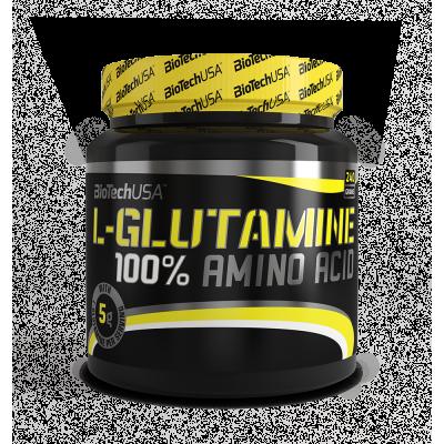 BioTech USA - 100% L - Glutamine 240g