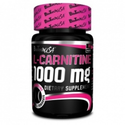 BioTech USA - L-Carnitine 1000mg - 30tablets