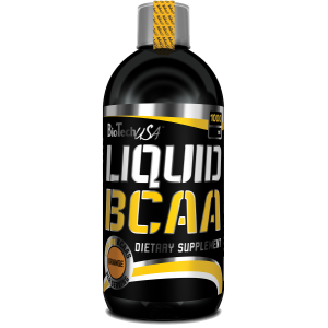 BioTech USA - Liquid BCAA - 1000ml Orange