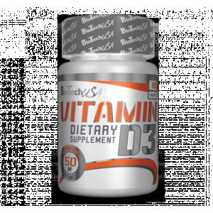 BioTech USA - Vitamin D3 - 60tab