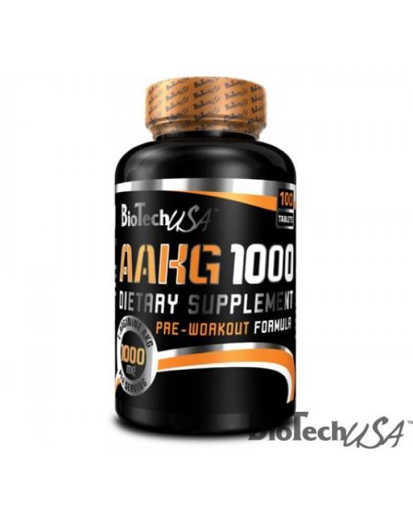 BioTech USA - AAKG 1000  Arginine - 100tabs
