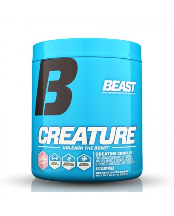 Beast Sports Nutrition - Creature Creatine Complex 300g - 60servings.