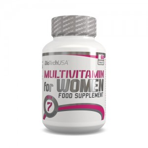 BioTech USA - Multivitamin for Women 60tabs