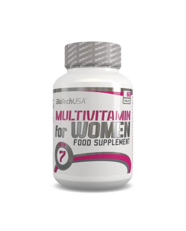 BioTech USA - Multivitamin for Women 60tabs