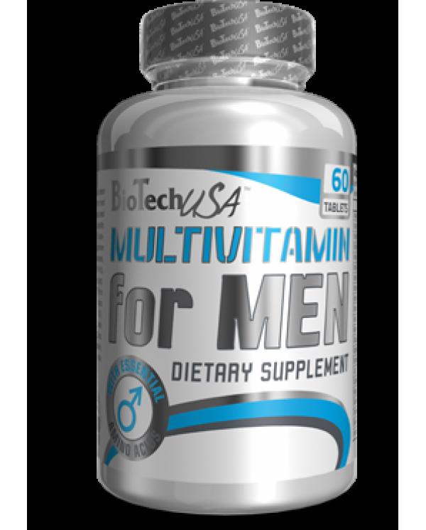 BioTech USA - Multivitamin for Men 60tabs