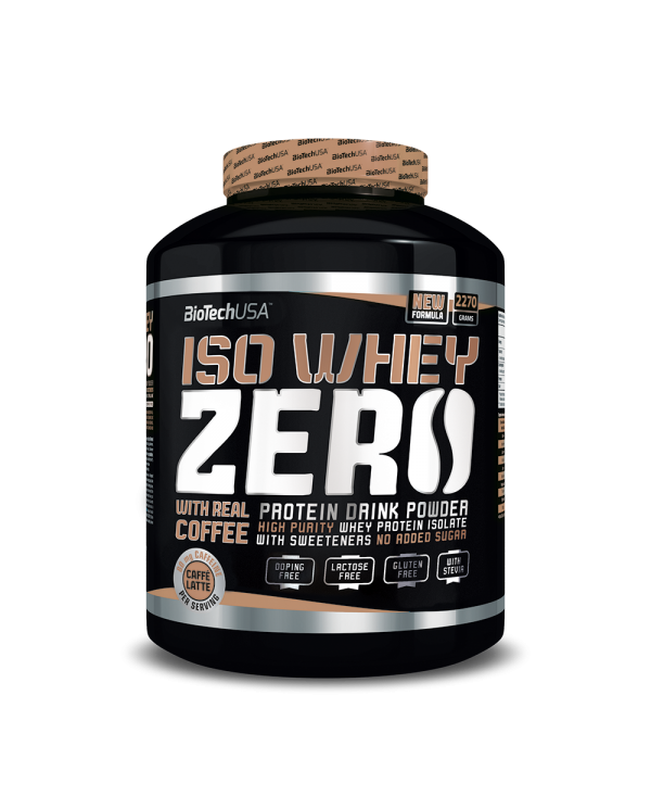 BioTech USA - ISO Whey Zero Caffe Latte 2270g + free shaker!