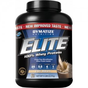 Dymatize - Elite 100% Whey Protein 5lb/2270g