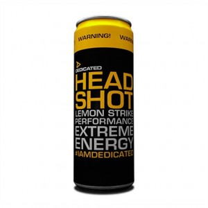Dedicated - Head Shot Energy Drink 355ml * 5for €10.00 * Mix and Match flavors!