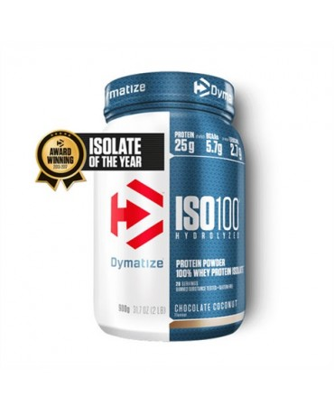 Dymatize - ISO-100 Hydrolyzed Whey Protein Isolate 908g/2lb