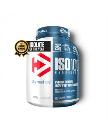 Dymatize - ISO-100 Hydrolized Whey Protein Isolate 2270g/5lb