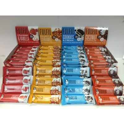 Fulfil - Protein bars with vitamins 15*60g box