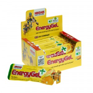 High5 - Energy Gel Plus Caffeine - Box of 20 * 40g