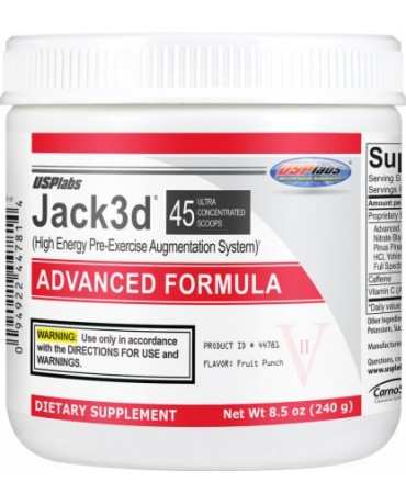 USP Labs - Jack 3D Advanced Formula 230g / 45servings