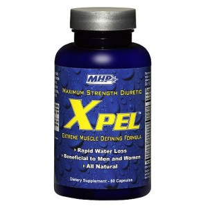 MHP - X-Pel Maximum Strength Diuretic 80caps