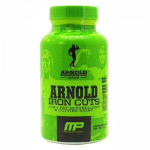 MusclePharm Arnold Series - Iron Cuts 120caps