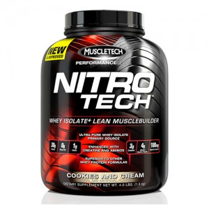 MuscleTech - Nitro Tech Performance Series 4lb