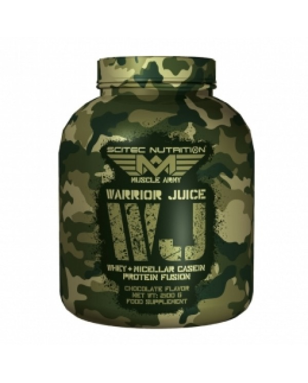Muscle Army - Warrior Juice Whey & Micellar Casein Protein fusion 2100g