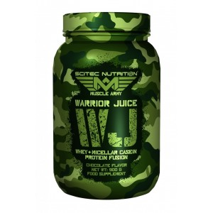 Muscle Army - Warrior Juice Whey & Micellar Casein Protein fusion 900g