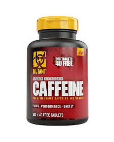 Mutant Caffeine 200+40 free tablets