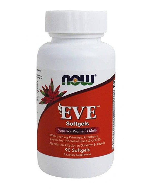 Now Foods - Eve Women`s Multivitamin 90 Tablets