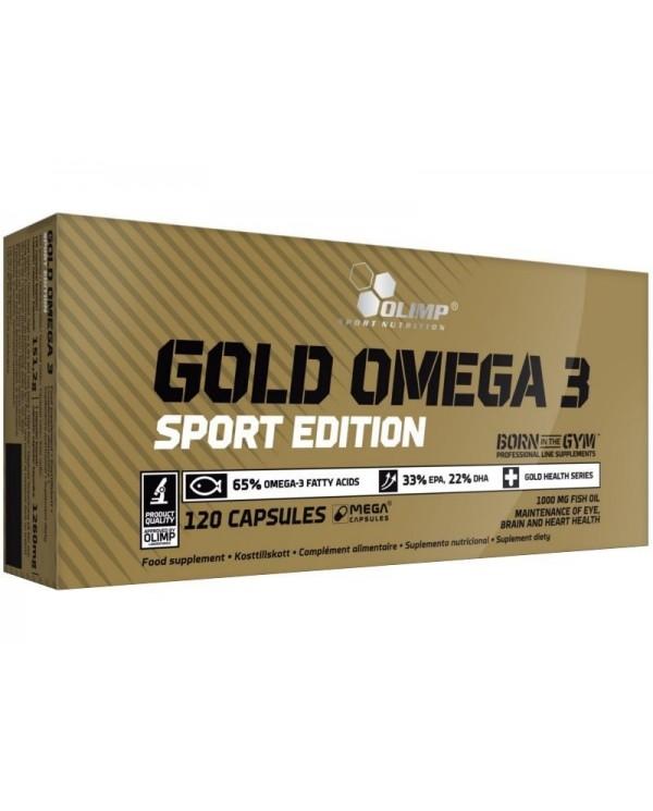 Olimp - Gold Omega 3 Sport edition 120caps