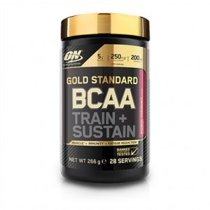 Optimum Nutrition - Gold Standard BCAA * TRAIN + SUSTAIN 266g / 28serv
