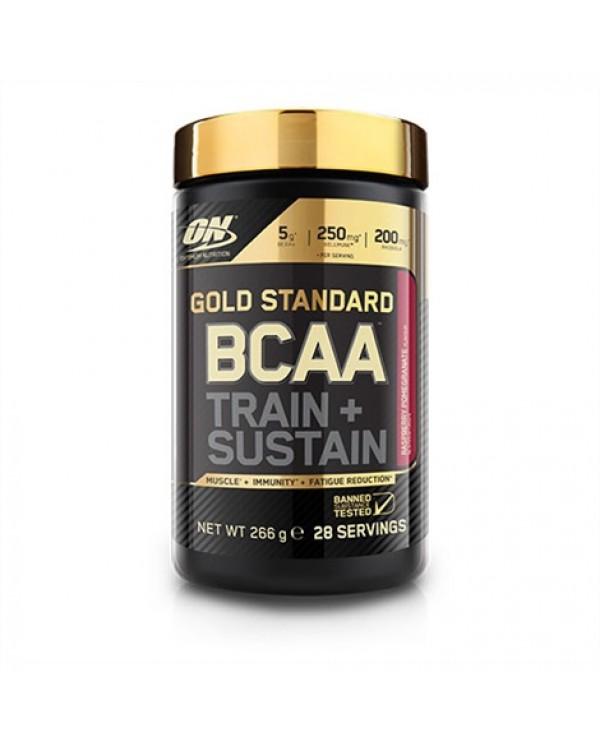 Optimum Nutrition - Gold Standard BCAA * TRAIN + SUSTAIN 266g / 28serv