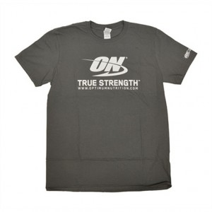 Optimum Nutrition - ON T-shirt  *True Strength *  Grey