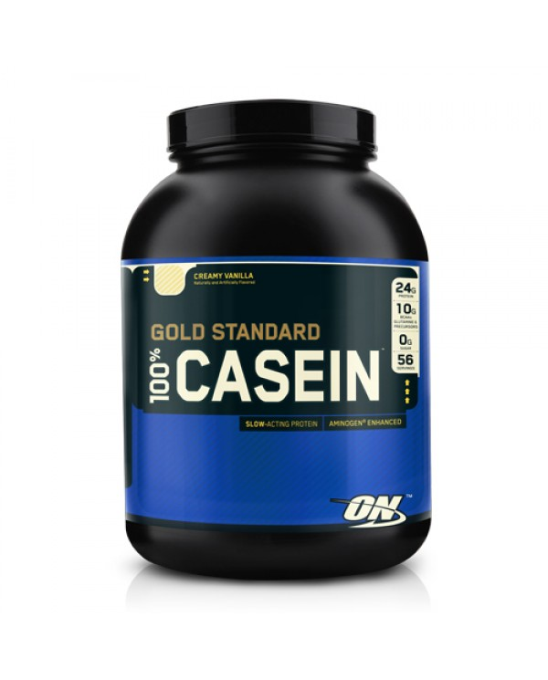 Optimum Nutrition - 100% Casein  Gold standard 4lb + FREE Sample!