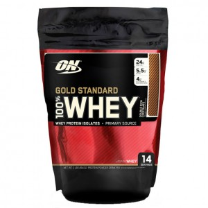 Optimum Nutrition - 100% Whey Gold Standard  1lb/454g -  15 serving bag