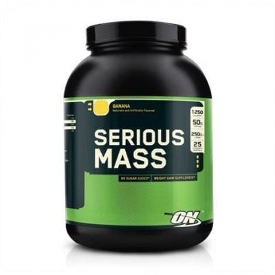 Optimum Nutrition - Serious Mass - 2730g (6lb)