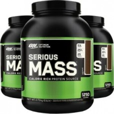 Optimum Nutrition - Serious Mass 6lb/2.7kg tub promo - 2For €40!