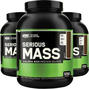 Optimum Nutrition - Serious Mass 6lb/2.7kg tub promo - 2For €40!