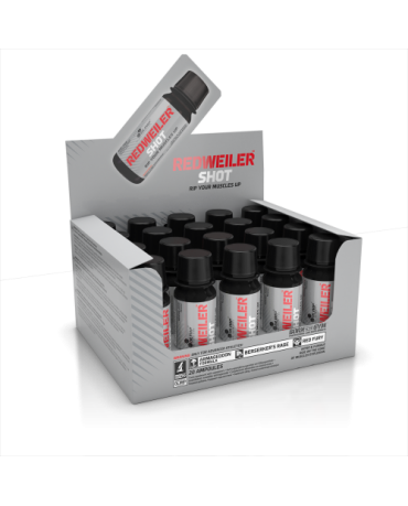 Olimp - Redweiler Shot 60ml*box of 20!