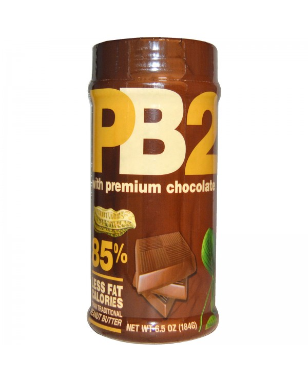 Bell Plantation - PB2 Powdered Peanut Butter 184g Chocolate