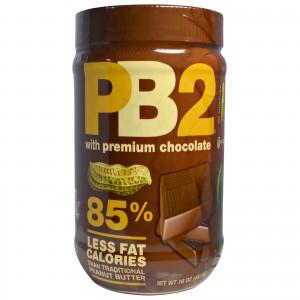Bell Plantation - PB2 Powdered Peanut Butter 454g Chocolate