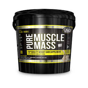 SO NUTRITION - Pure Muscle Mass 10lb/4.54kg + Free Shaker!