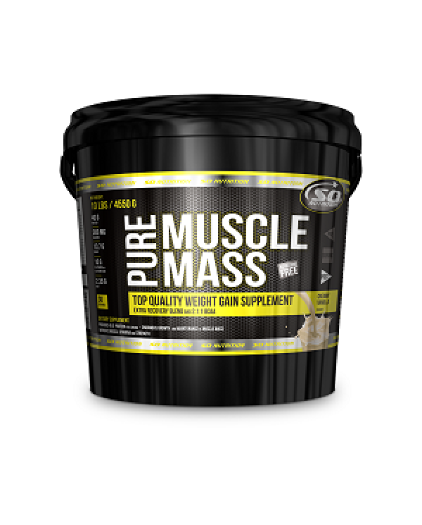 SO NUTRITION - Pure Muscle Mass 10lb/4.54kg