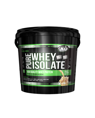 SO NUTRITION - Pure Whey Isolate 4kg - ZERO SUGAR-ZERO LACTOSE!