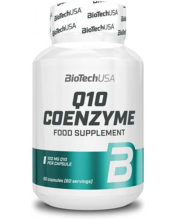 Biotech USA - Q10 Coenzyme 100mg - 60capsules