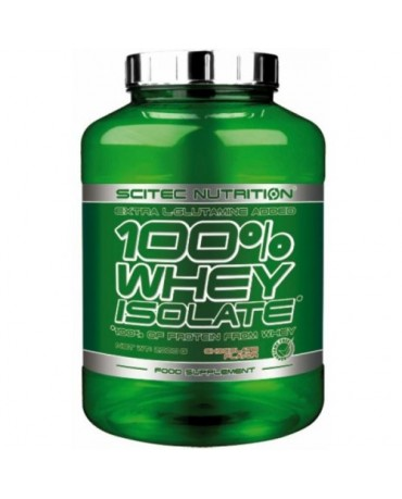 Scitec Nutrition - 100% Whey Isolate 2000g + shaker