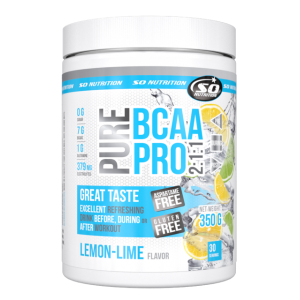 SO Nutrition - Pure BCAA Pro 2:1:1  - 30serv