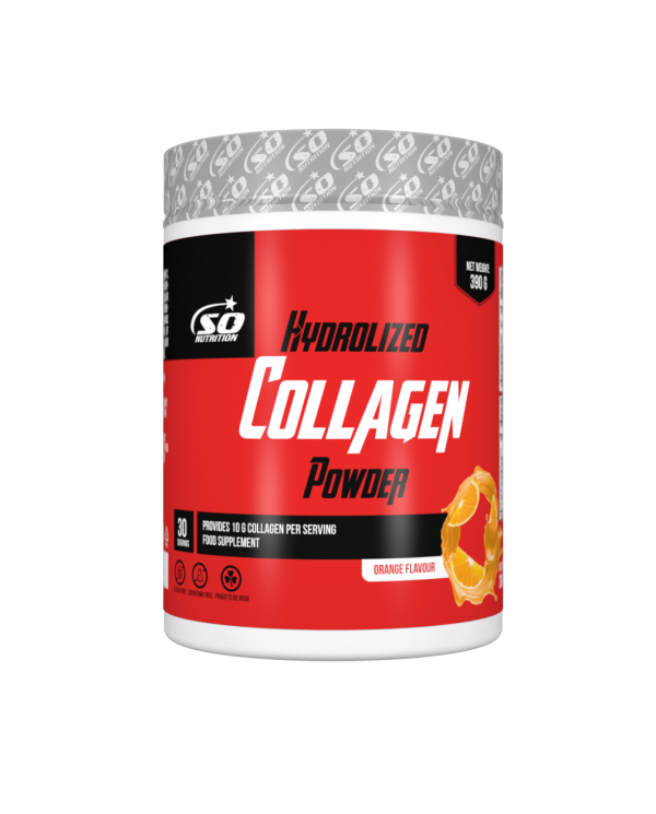 SO NUTRITION - Hydrolized Collagen Powder - Orange flavor 390g