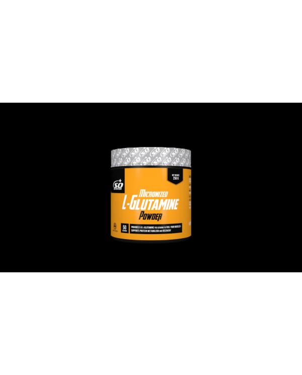 SO NUTRITION - Micronized L-Glutamin Powder 250g