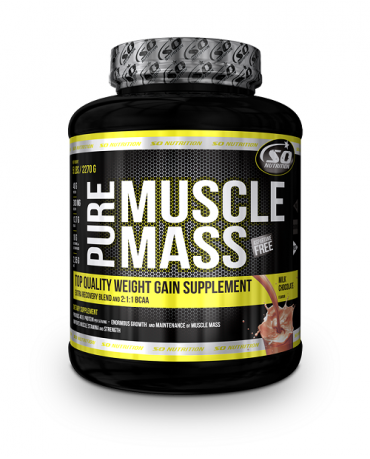 SO NUTRITION - Pure Muscle Mass 5lb + Free Samples!