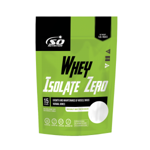 SO Nutrition  - Whey Isolate Zero 454g bag (former Pure Whey Isolate)