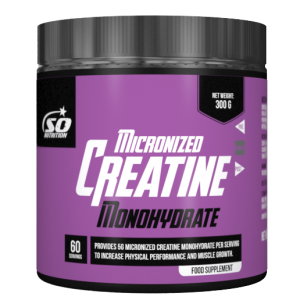 SO NUTRITION - Micronized Creatine Monohydrate 300g